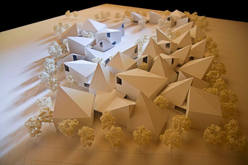 Maqueta del proyecto de Tuñón y Mansilla